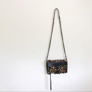 Rebecca minkoff M.A.C leopard calf hair bag